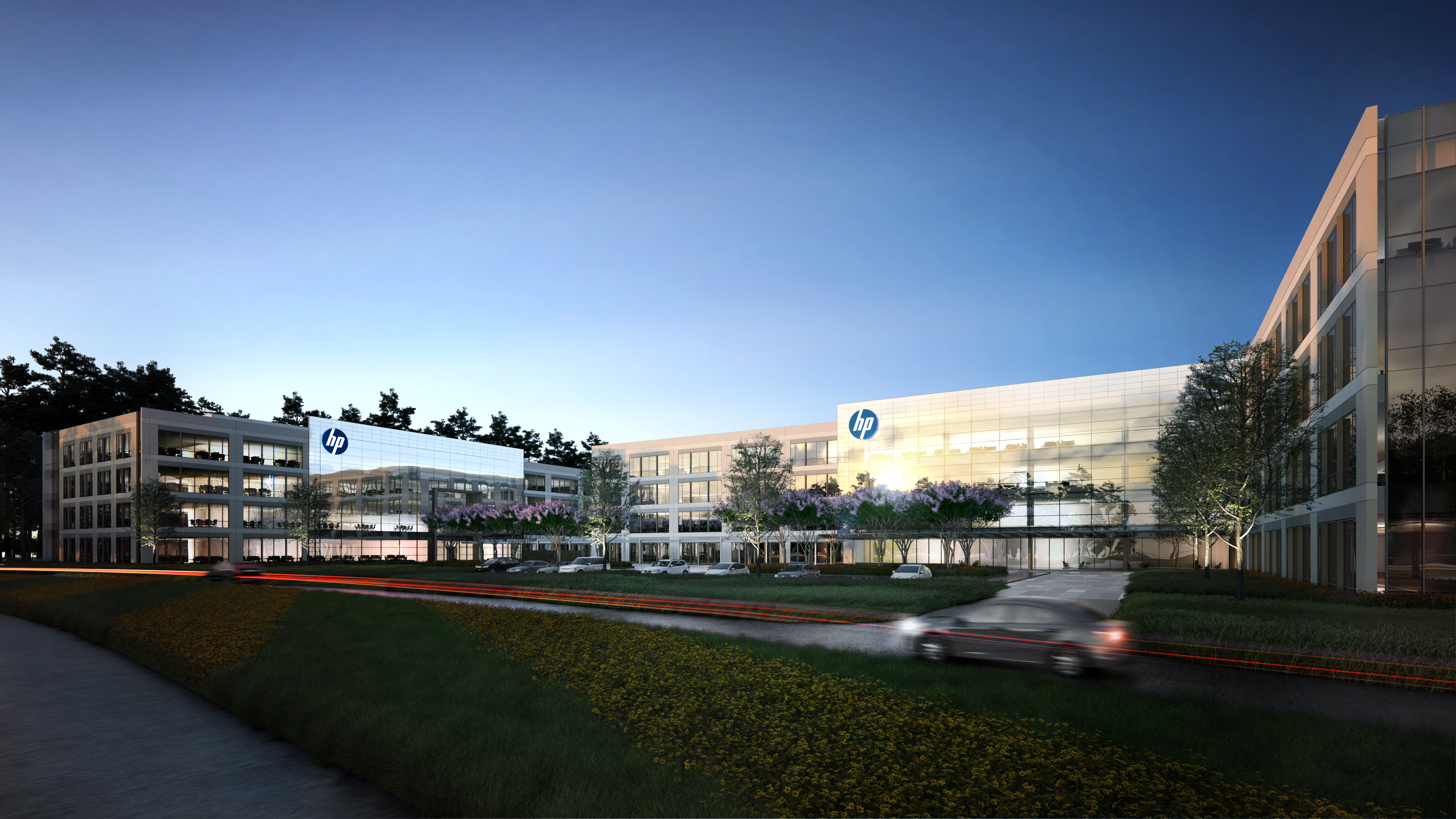 New office announced for Springwoods Village - HP Inc  moving to new